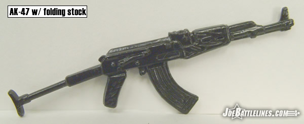 AK-47 with folding stock