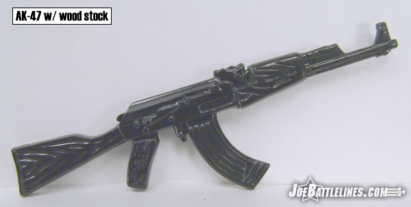 AK-47 with wood stock