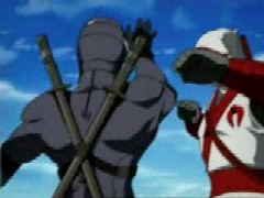 Snake Eyes vs. Storm Shadow from Sigma 6