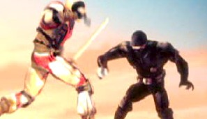 Snake Eyes vs. Storm Shadow