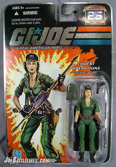 Lady Jaye carded