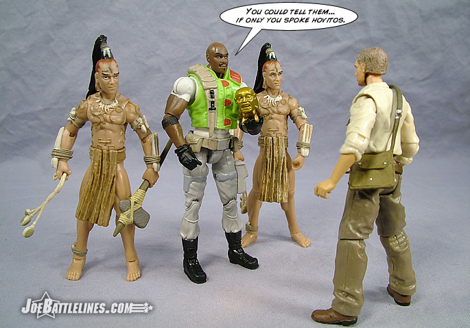 joebattlelines  g i  joe 25th anniversary 2008 wave 4 roadblock v2