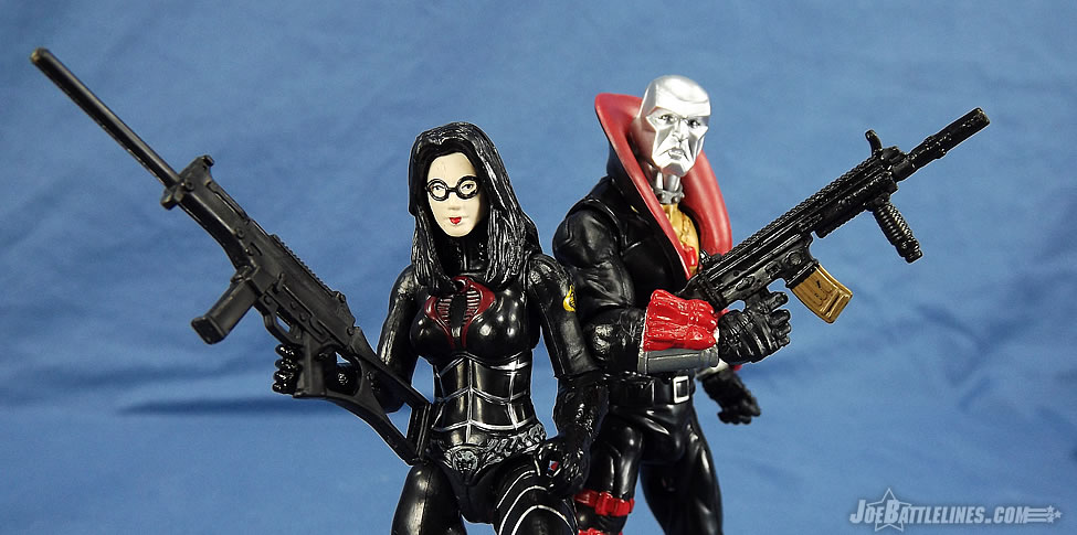 G.I. Joe 50th Anniversary Eagle's Edge Destro and Baroness