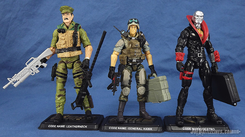 G.I. Joe 50th Anniversary Eagle's Edge 3 pack