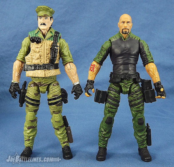 G.I. Joe 50th Anniversary Leatherneck and Retaliation Roadblock