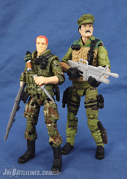 G.I. Joe 50th Anniversary Leatherneck and Wet Suit