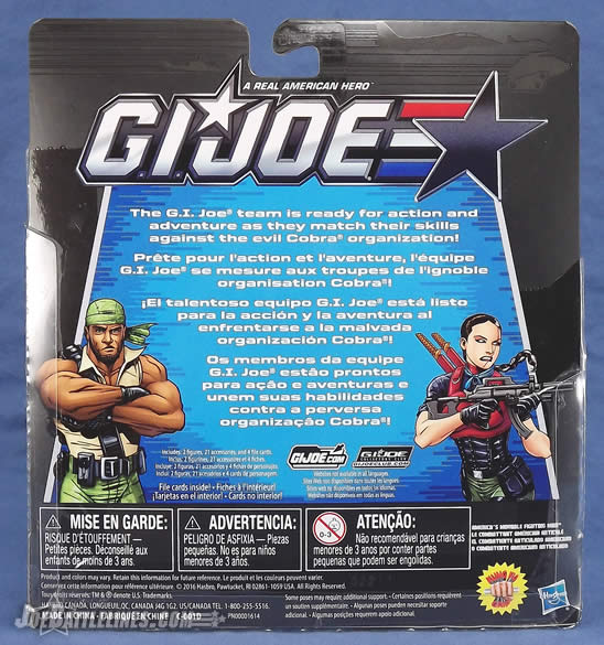 G.I. Joe 50th Anniversary Heavy Conflict two-pack