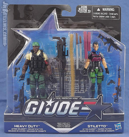 G.I. Joe Heavy Conflict two-pack