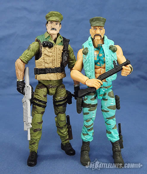 G.I. Joe Marine Devastation Gung-Ho and Leatherneck
