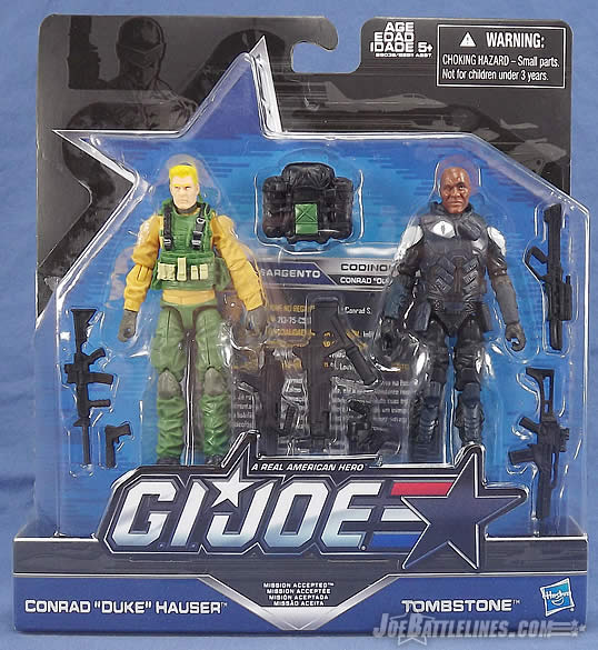 G.I. Joe 50th Anniversary Mission Accepted two-pack