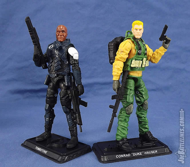 G.I. Joe 50th Anniversary Duke action figure Tombstone