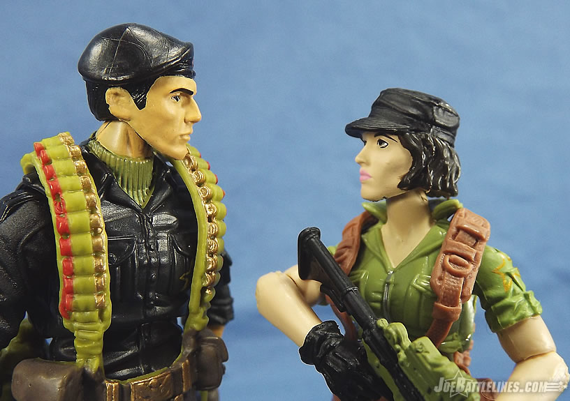 G.I. Joe 50th Anniversary Social Clash Lady Jaye