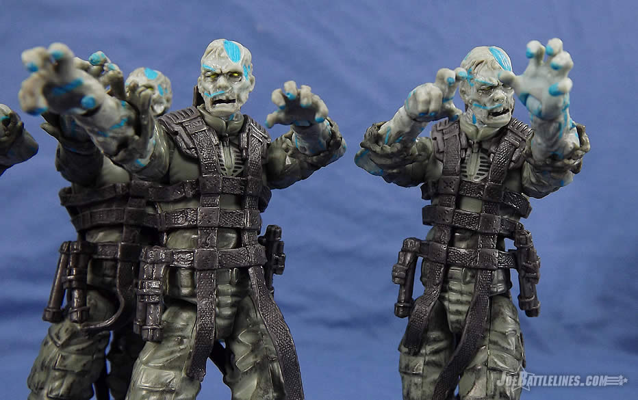 G.I. Joe Zombie Patrol Zombie Viper two-pack