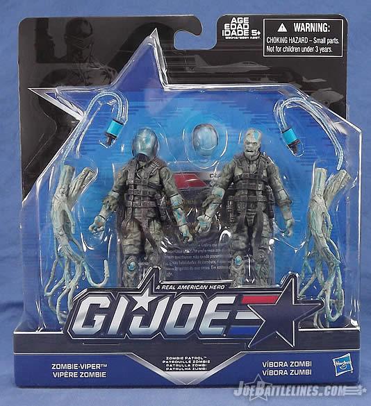 G.I.Joe 50th Anniversary Gijoe 2016 Cobra Zombie Viper Action Figure New