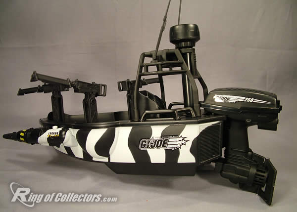Piranha Attack boat with motor
