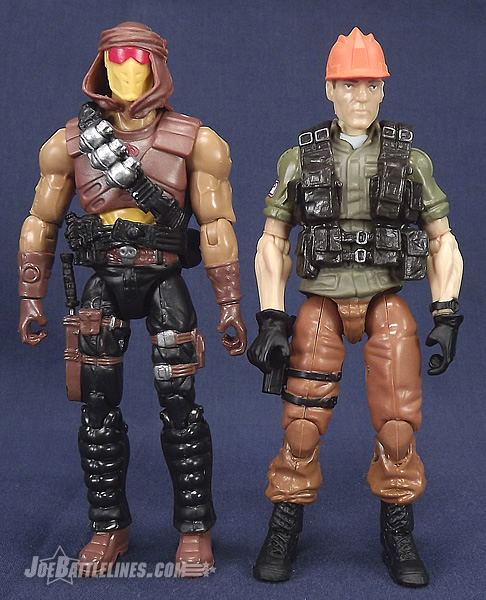 G.I. Joe Collector's Club Cobra Desert Scorpion and Tollbooth