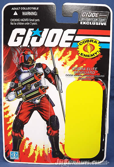 G.I. Joe Collector's Club FSS 3 Crimson Guard Immortal