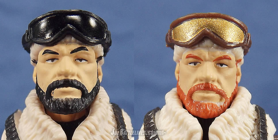 G.I. Joe FSS 3 Frostbite Tiger Force comparison