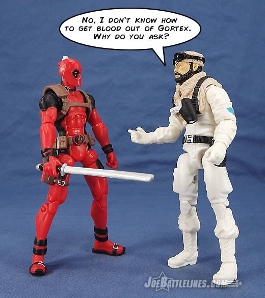 G.I. Joe FSS 3 Frostbite Deadpool