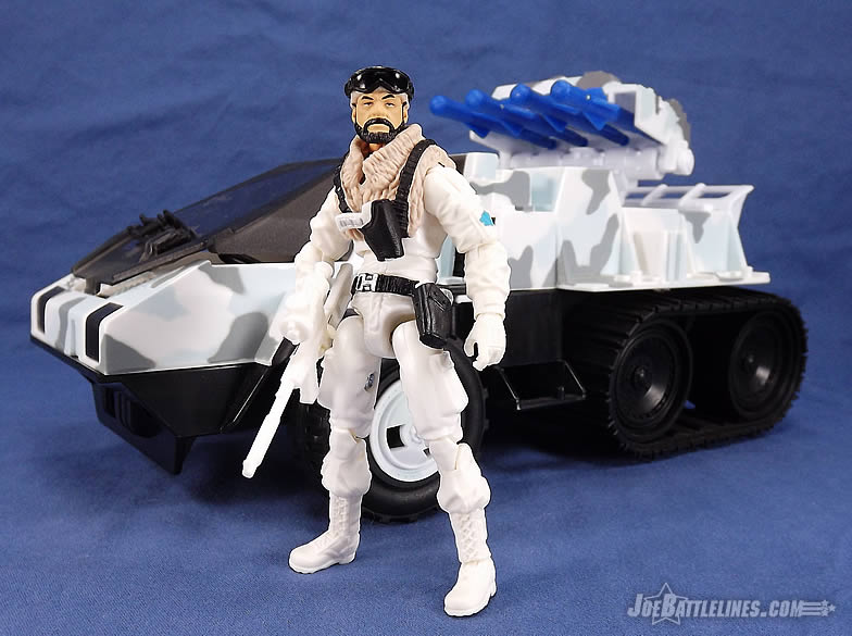 G.I. Joe FSS 3 Frostbite Snow Cat