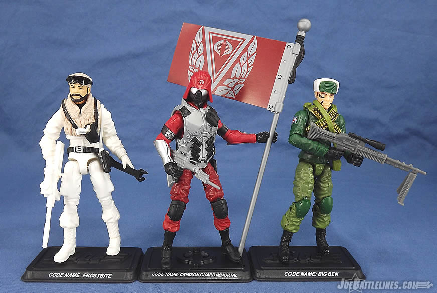 G.I. Joe FSS 3 Frostbite Big Ben Crimson Guard Immortal