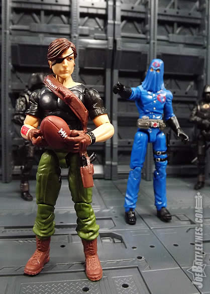G.I. Joe FSS 4 Billy Arboc Cobra Commander