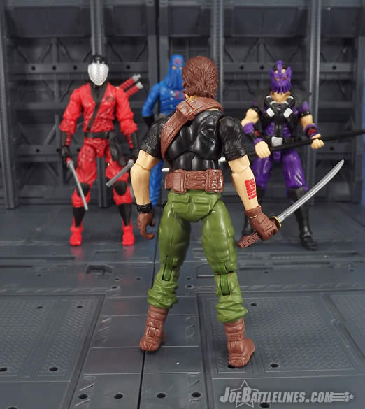 G.I. Joe FSS 4 Billy Arboc Slice Dice Cobra Commander