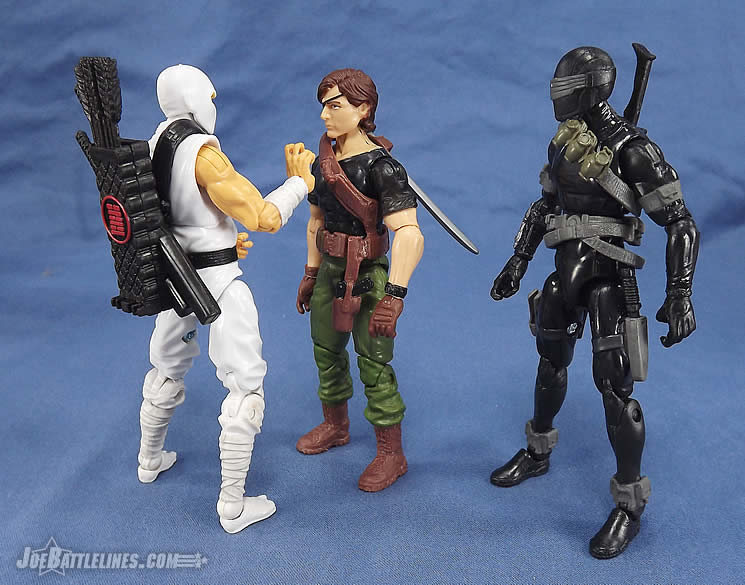 G.I. Joe FSS 4 Billy Arboc Snake Eyes Storm Shadow