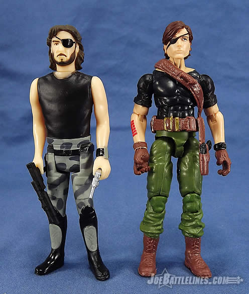 G.I. Joe FSS 4 Billy Arboc Snake Plissken