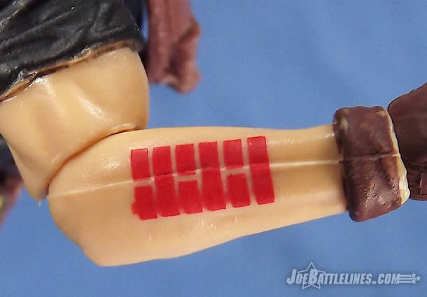 G.I. Joe FSS 4 Billy Arboc Arashikage tattoo