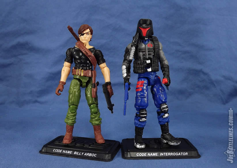 G.I. Joe FSS 4 Interrogator Billy