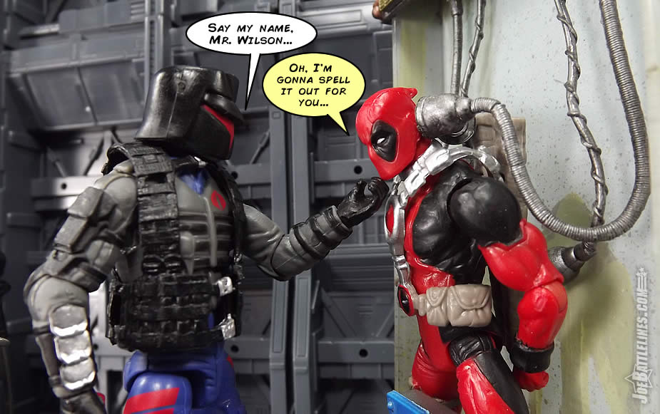 G.I. Joe FSS 4 Interrogator Deadpool Francis