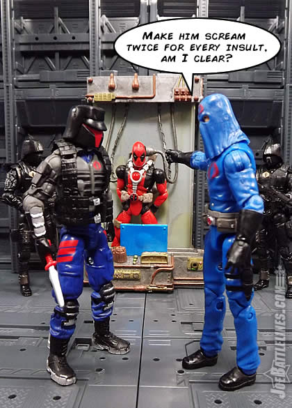 G.I. Joe FSS 4 Interrogator Deadpool