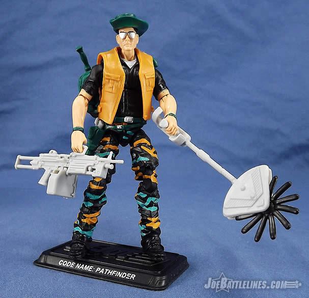 GI Joe Weapon Pathfinder Weed Eater no Blade 1990 Original Figure Accessory