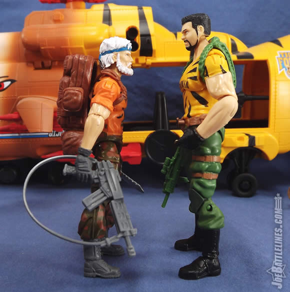 G.I. Joe FSS 4 Tiger Force Outback Big Brawler