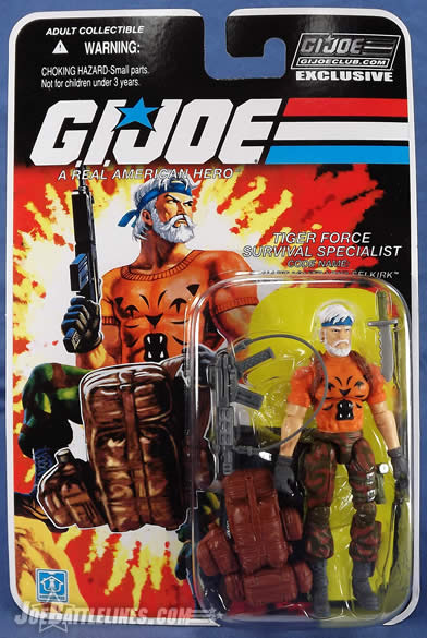 G.I. Joe FSS 4 Tiger Force Outback