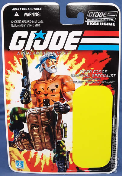 G.I. Joe FSS 4 Tiger Force Outback card art