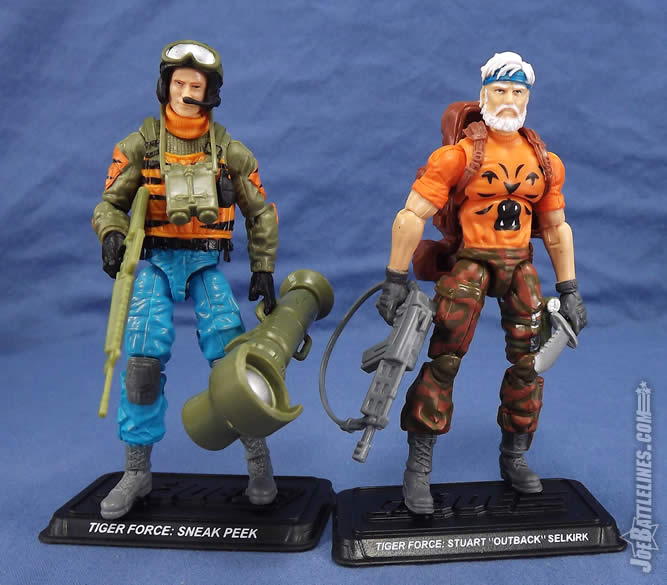 G.I. Joe FSS 4 Tiger Force Outback Sneak Peek
