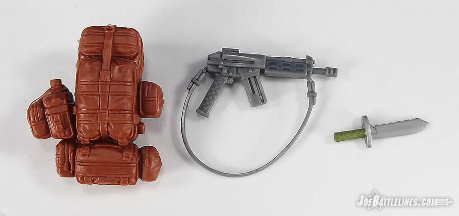 G.I. Joe FSS 4 Tiger Force Outback accessories