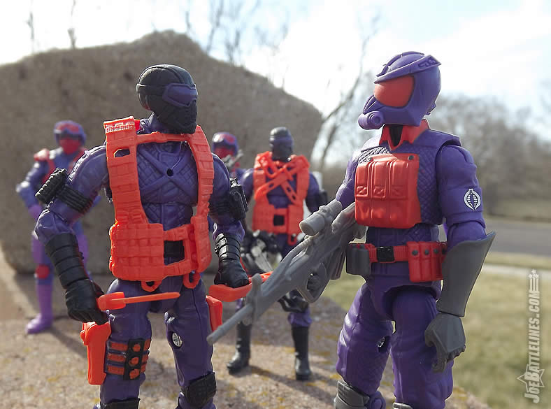 G.I. Joe FSS 5 Battle Corps Cobra Viper Night Vultures