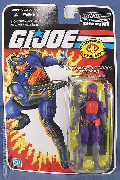 G.I. Joe FSS 5 Battle Corps Cobra Viper card front