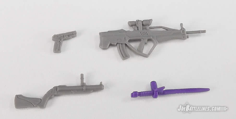 G.I. Joe FSS 5 Battle Corps Cobra Viper weapons