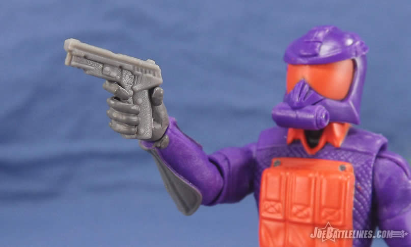 G.I. Joe FSS 5 Battle Corps Cobra Viper pistol