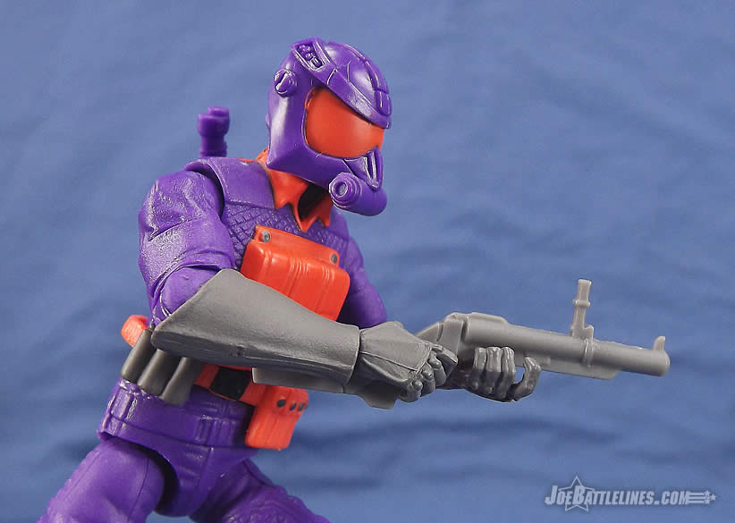 G.I. Joe FSS 5 Battle Corps Cobra Viper grenade launcher