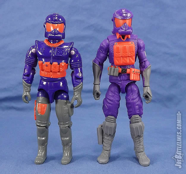G.I. Joe FSS 5 Battle Corps Cobra Viper comparison
