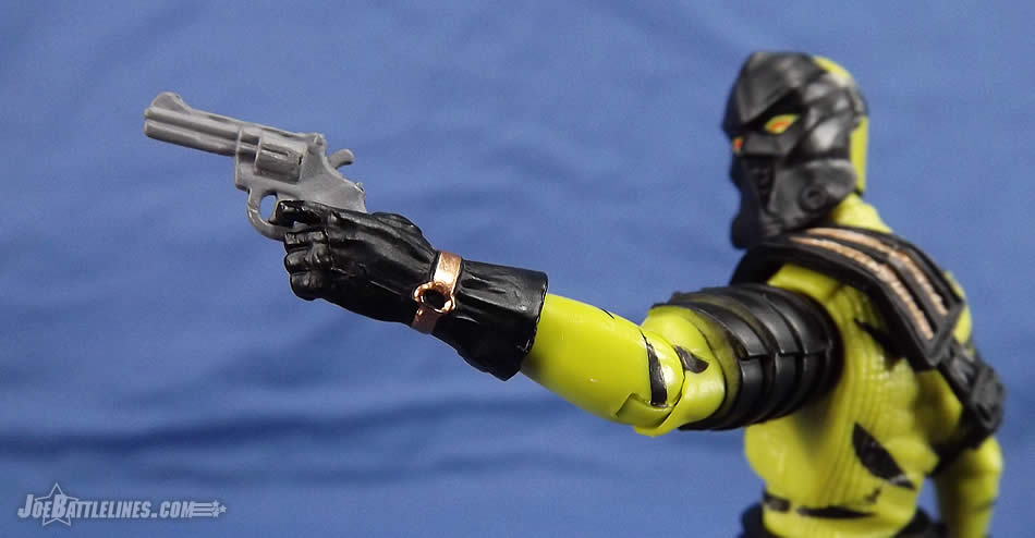 G.I. Joe FSS 5 Darklon pistol