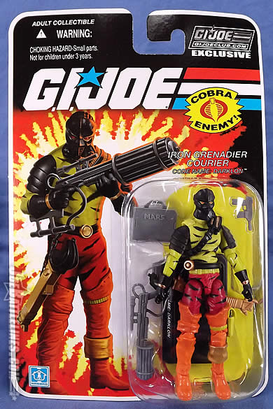 G.I. Joe FSS 5 Darklon card front