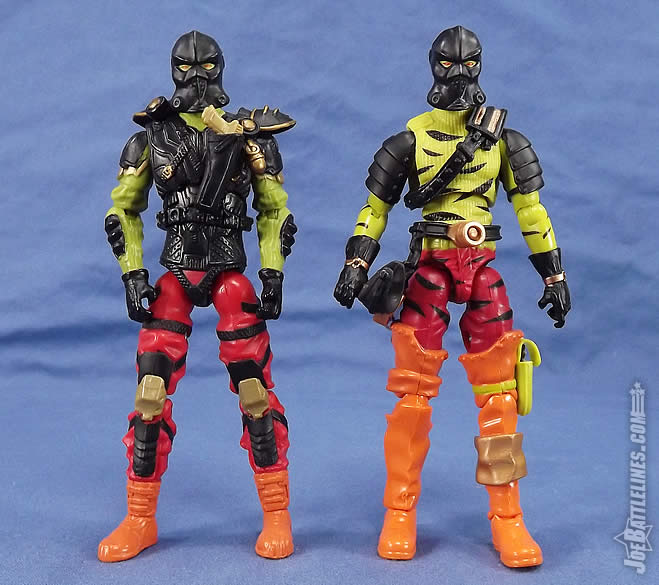 G.I. Joe FSS 5 Darklon comparison Joe Con 2012
