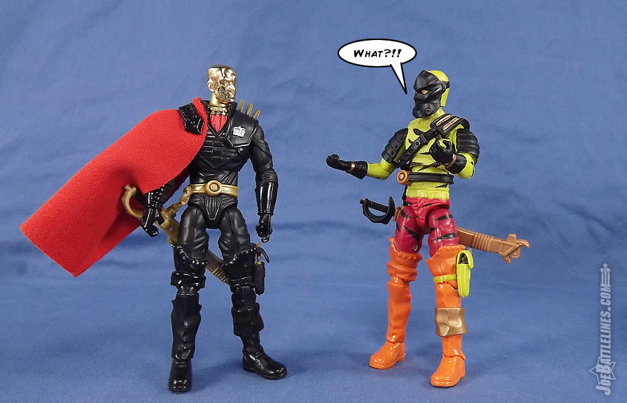 G.I. Joe FSS 5 Darklon Iron Grenadier Destro