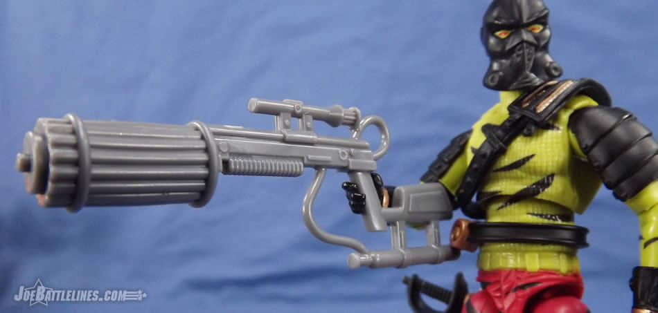 G.I. Joe FSS 5 Darklon needle gun